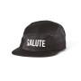 2BOP Salute 5 Pannel Hat in black